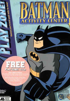 The Adventures of Batman and Robin Activity Center