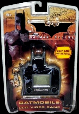 Batmobile LCD Video Game